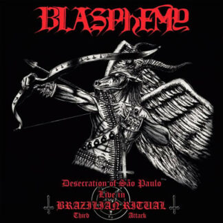 BLASPHEMY - Desecration Of São Paolo - Live In Brazilian Ritual - Third Attack LP