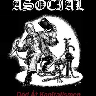 "ASOCIAL - Död Åt Kapitalismen 12""LP"