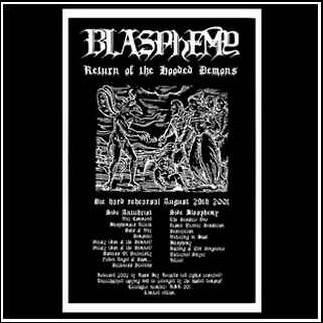 BLASPHEMY - Return Of The Hooded Demons LP