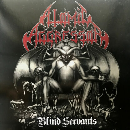 ATOMIC AGGRESSOR/DEATH YELL - Back From The Depths - Blind Servants (Split) 7EP
