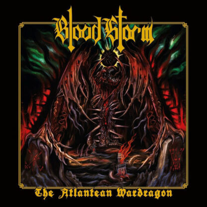 BLOOD STORM - The Atlantean Wardragon CD