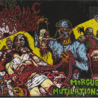 CARDIAC ARREST - Morgue Mutilations CD