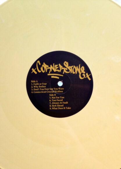 CORNERSTONE - Beating The Masses LP (Yellow Vinyl)