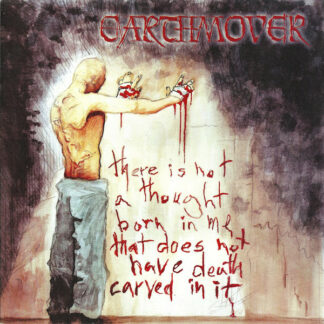EARTHMOVER - Death Carved In Every Word LP