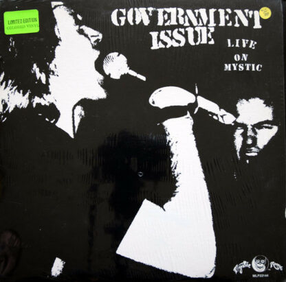 GOVERNMENT ISSUE - Live On Mystic LP