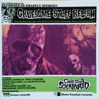 GRUESOME STUFF RELISH - Grotesque Scenario CD