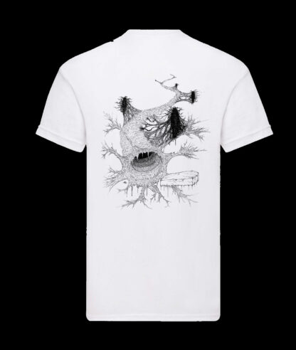 Gutvoid - Wormhole T-shirt (Back - White)