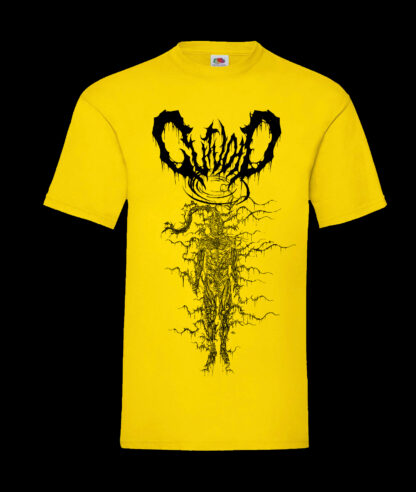 Gutvoid - Wormhole T-shirt (Front - Yellow)