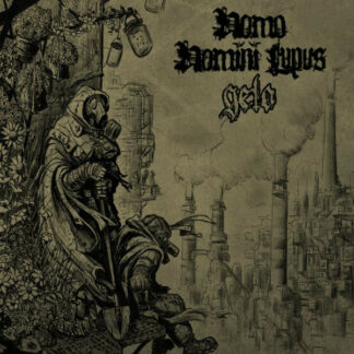 HOMO HOMINI LUPUS and GELO - Split LP