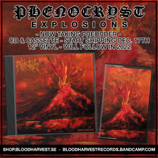 PHENOCRYST - Explosions CD & CASSETTE (Bundle)