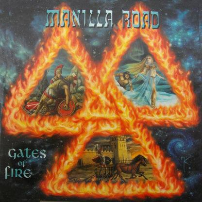 MANILLA ROAD - Gates Of Fire DLP