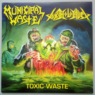 MUNICIPAL WASTE / TOXIC HOLOCAUST - Split LP