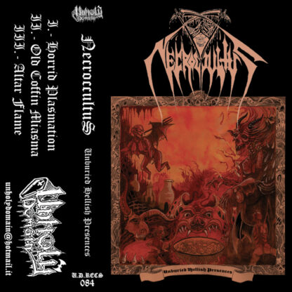 NECROCCULTUS - Unburied Hellish Presences CASSETTE