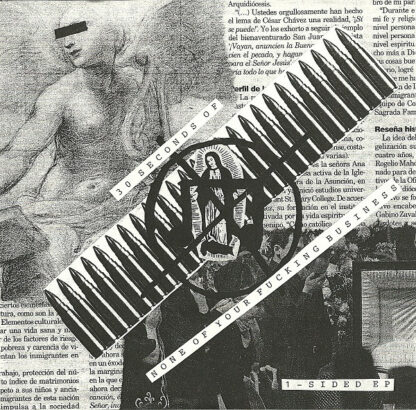 NONE OF YOUR FUCKING BUSINESS / HATEBOX - Split 7EP
