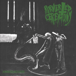 PERVERTED CEREMONY / WITCHCRAFT - Split LP