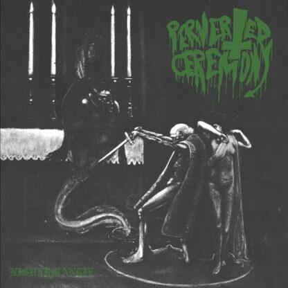 PERVERTED CEREMONY / WITCHCRAFT - Split LP