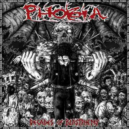 PHOBIA – Decades Of Blastphemy 4xCD BOX