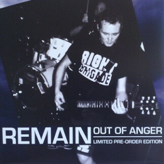 REMAIN - Out Of Anger LP