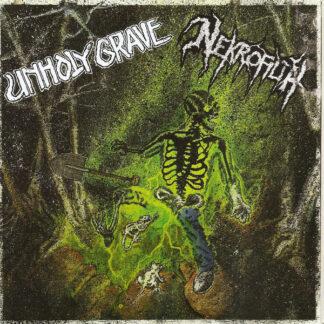 UNHOLY GRAVE - NEKROFILTH - Split 6EP