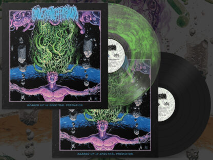 UNIVERSALLY ESTRANGED - Reared Up In Spectral Predation LP (Vinyl Bundle)