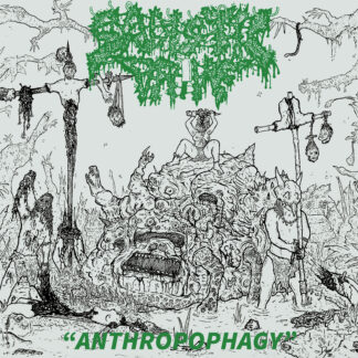 SADISTIC DRIVE – Anthropophagy LP (Both Editions Bundle)