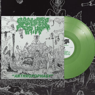 SADISTIC DRIVE – Anthropophagy LP green vinyl